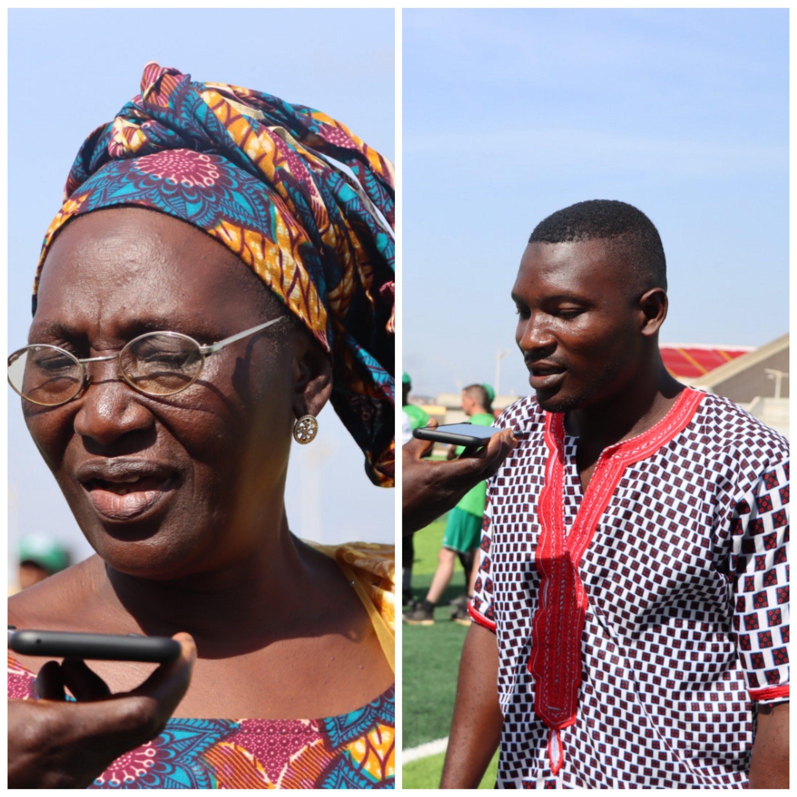 Détection Académie de Football-KPC : Margueritte Goumbassa contente, Ibrahima Sory Sacko fier de son protégé